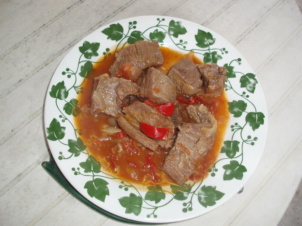 Une goulash hongroise - recette facile