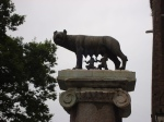 la louve romaine sur le Capitole