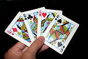 Les noms des figures des jeux de cartes