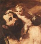 Saint Christophe et l'enfant Jésus