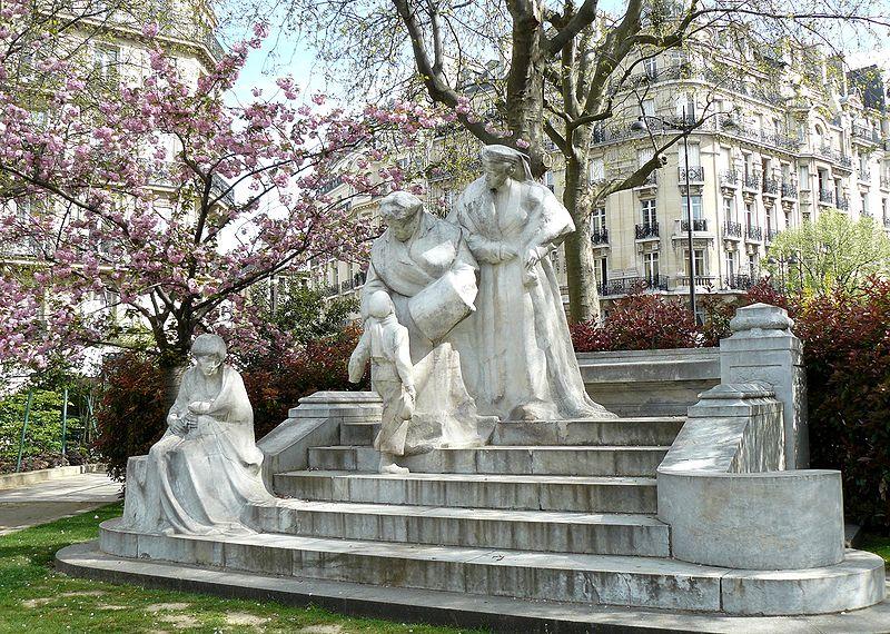 Monument à la gloire de Madame Boucicaut