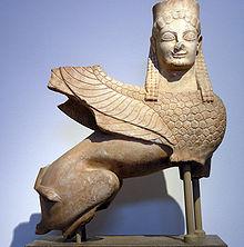 Sphinx - Musée nationale d'Athènes